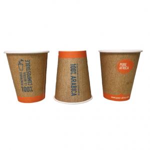 Biologisch afbreekbare coffee cups van Pure Africa Coffee