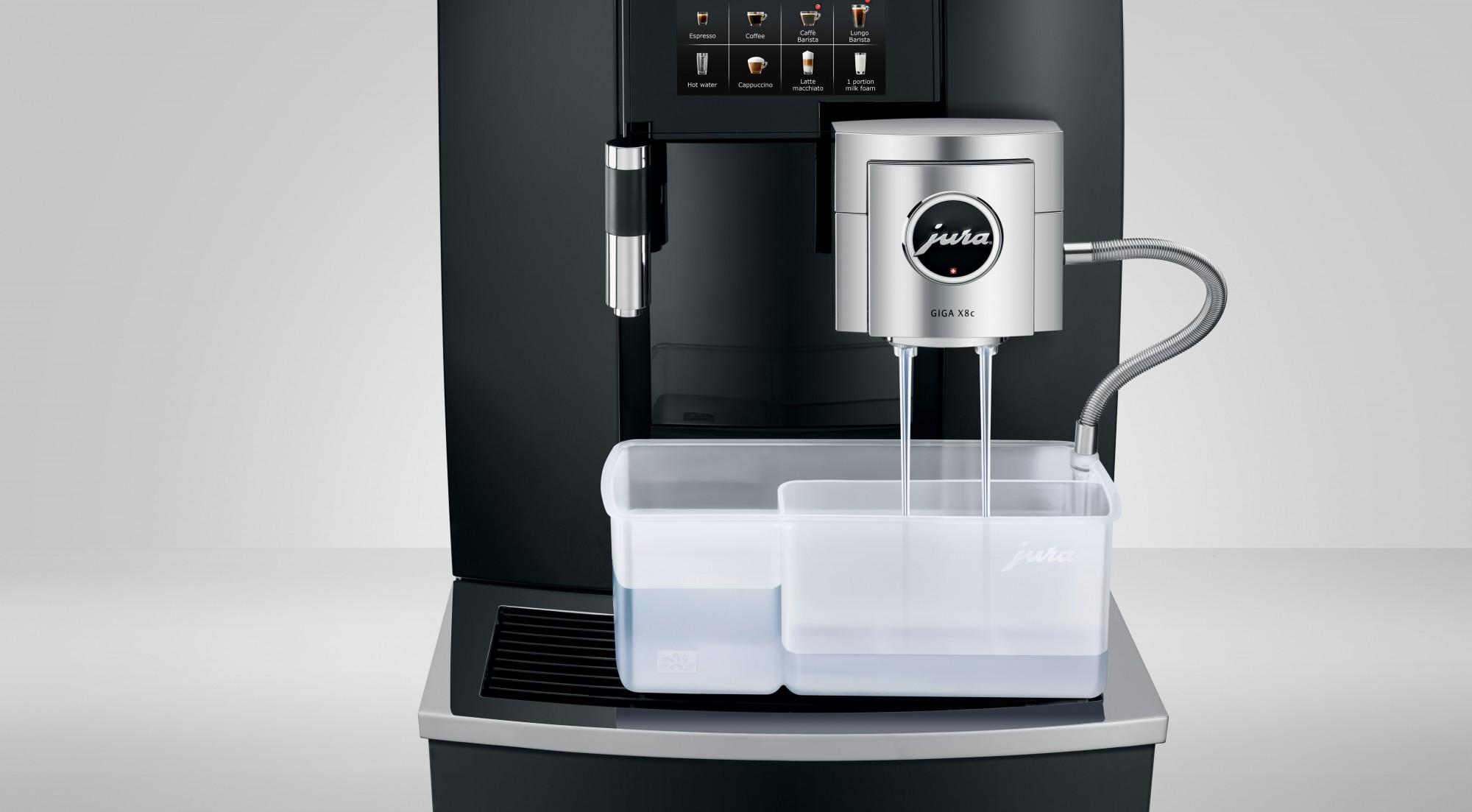 Eenvoudig het melksysteem schoonmaken