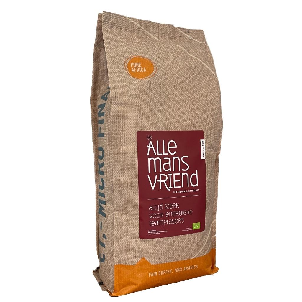 Biologische koffiebonen en microkrediet investeringen