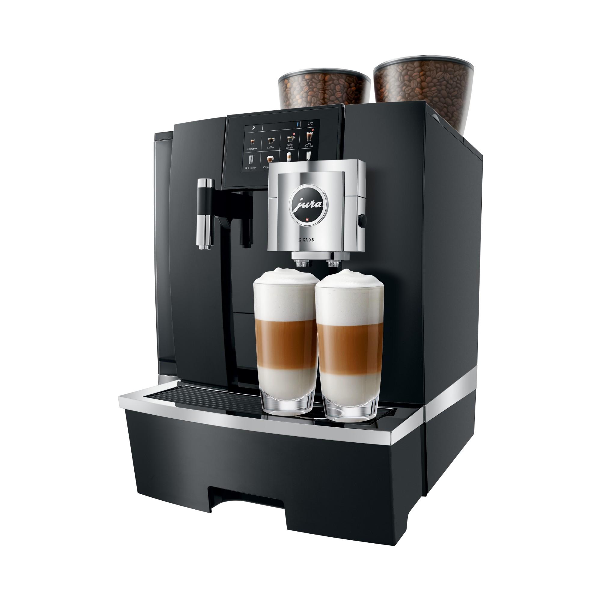 Zakelijke koffiemachine die latte macchiato kan maken