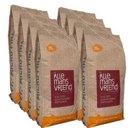 Doos koffiebonen Pure Africa Allemansvriend 8 x 1kg