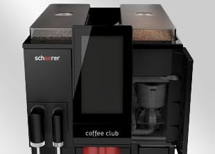 Schaerer Coffee Club koffiemachine