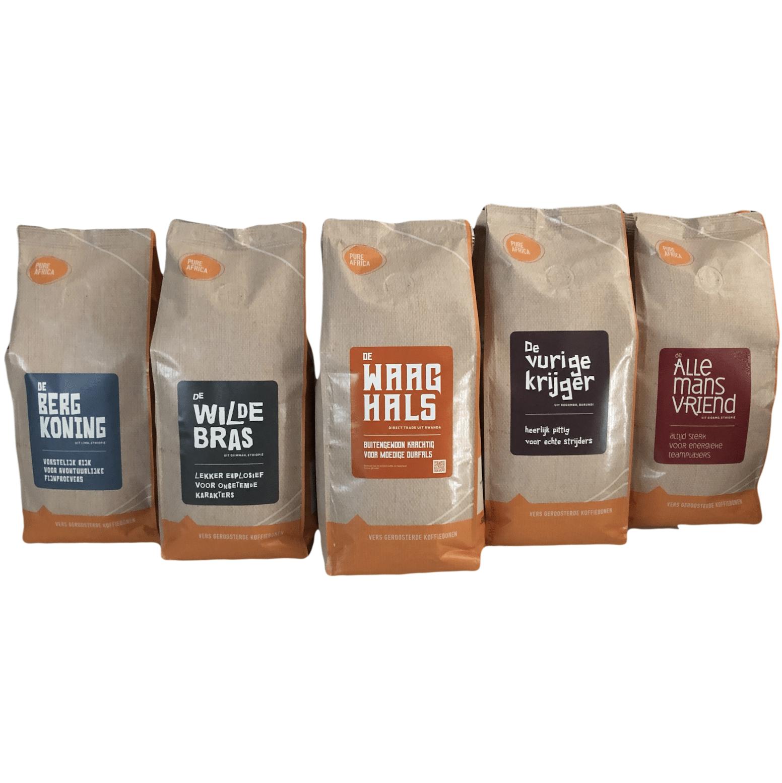 Proefpakket koffiebonen
