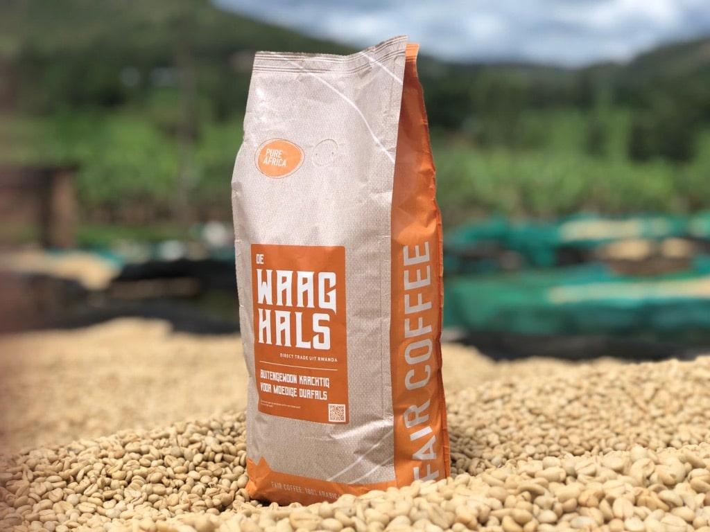 Koffie van goede kwaliteit die de koffieboer een goede prijs oplevert.