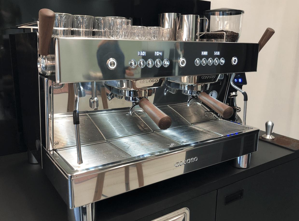 Tweegroeps koffiemachine op kantoor