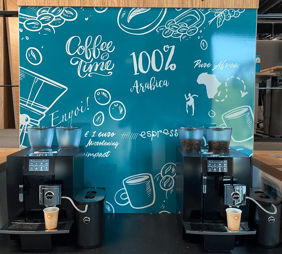 Jura koffiemachines voor kantoor