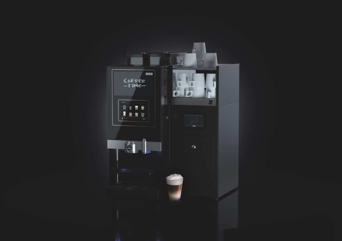 ETNA verse melk koffiemachine voor kantoor