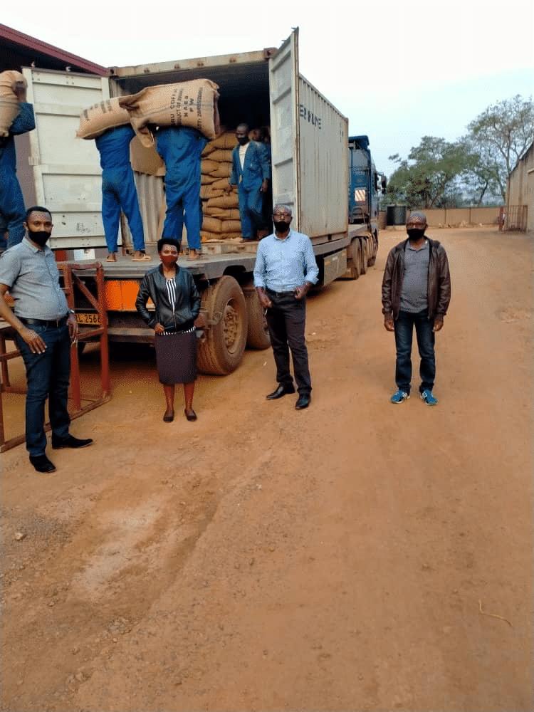 Team in Rwanda