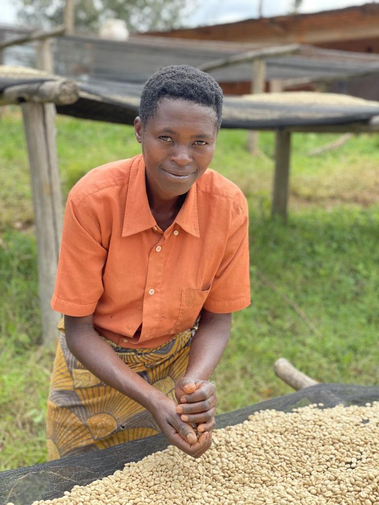 Terug van het bezoek aan coöperatie Korerikawa in Burundi